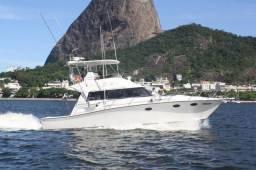 Lancha Rio Star 42 pés Impecável!
