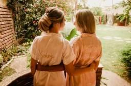 Robe personalizado para Noiva e Vó da noiva