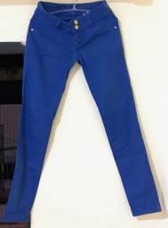 Calça Azul tamanho 38