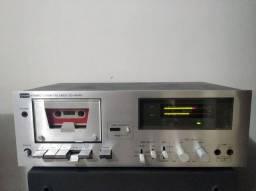 Impecável tape deck CCE Kenwood CD-4040