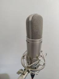 Microfone Condensado Behringer B2 Pro + Cabo + Aranha + Espuma Profissional