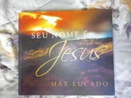 Livros Cristãos - Livro Seu nome é Jesus do autor Max Lucado.