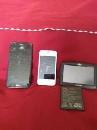 Celular, GPS, bateria torrando tudo