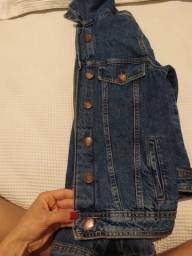 Jaqueta jeans azul P
