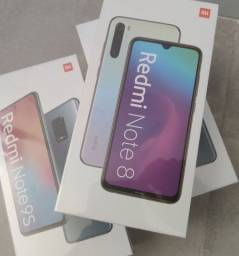 Xiaomi Redmi Note 8. O clássico. Novo lacrado com garantia e entrega imediata