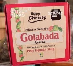 Goiabada Cascão Artesanal - Barra 500 g | Doces da Christy