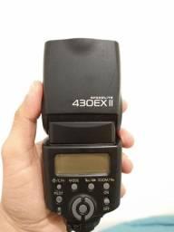 Flash Canon EX II, leia a descrição