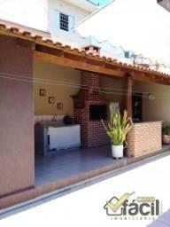 Casa para Venda em Presidente Prudente, Jardim Balneário, 2 dormitórios, 1 suíte, 3 banhei
