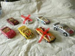 Lote com 5 carrinhos antigos de fricção, brinquedo antigo