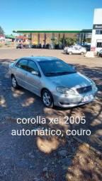 Corolla Xei 2005 automático, couro