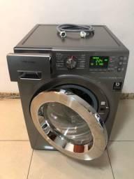 Máquina de Lavar 10kg Inox da Samsung Entrego