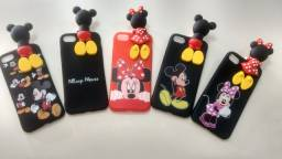 Capinhas Silicone iPhone 5, 6 e 7