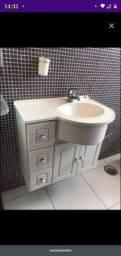 Gabinete de banheiro tamanho 30 por 59