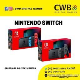 Nintendo Switch - Novo, lacrado e com garantia! Loja física