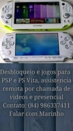 Jogos de PSP e PS Vita