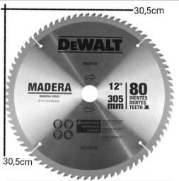 Disco de serra DW03150 Dewalt 12 Polegadas - 80 dentes para madeira - Produto Novo