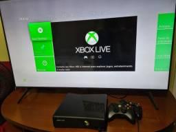 Xbox 360 Desbloqueado +22 jogos +2Controles