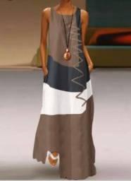 Vestido Casual GG - NOVO