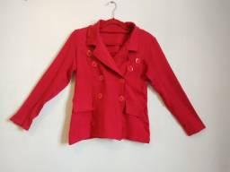 Casaco vermelho