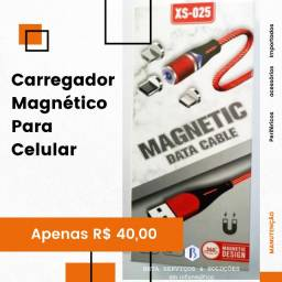 Carregador Magnético para Celular