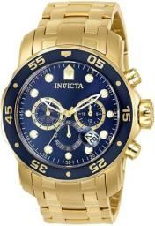 Relógio Invicta Pro Diver Scuba Dourado Orginal Comprado nos Estados Unidos