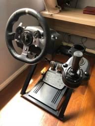 Cockpit + Logitech G920 Xbox/pc    (aceito cartão)
