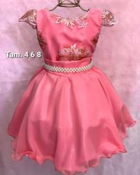 Vestidos infantis luxo