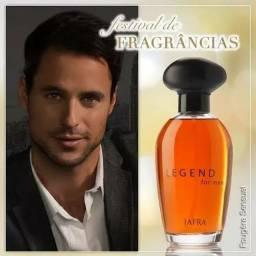 Perfumes jafra..legend e outras fragrância