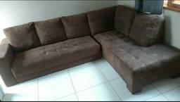 Sofá retrátil molas em sacada (sofá cama )