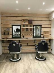 Salao e barbearia