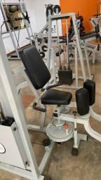Sala de musculação completa profissional