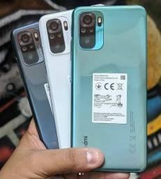 Aparelhos Lacrados Redmi Note 10 de 64GB - Bateria 5000mAh - Câmera 48mp - Carregador 33w