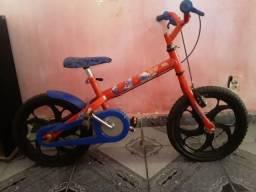 Bicicleta infantil caloi homem aranha