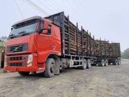 Volvo fh 460 6x4 2012 plataforma para madeira