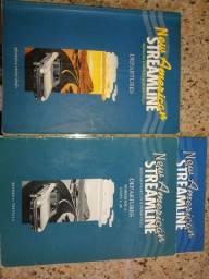 Livro de Inglês American Streamline - 1 livro texto e 2 de exercícios