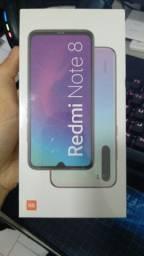 Xiaomi Redmi Note 8 Dual Sim 64 Gb Space Black 4 Gb Ram (Lacrado na Caixa)