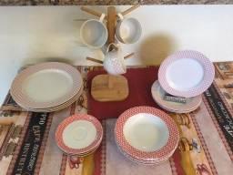 Pratos/Louça de porcelana