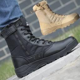 Bota Swat Tactical botas para o dia-a-dia com proteção para o homem/mulher respirável.