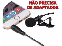 Microfone de lapela condensador R$30,00