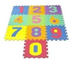 Tapete infantil de eva com 10 peças