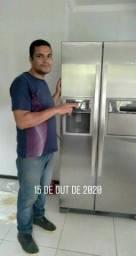 Conserto de geladeira freezer ar-condicionado
