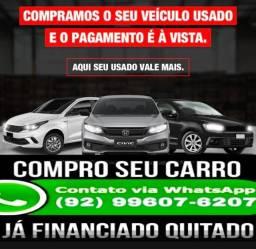 Compra se carro já financiado