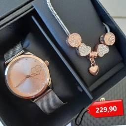 Relógio Lince com kit
