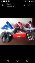 Vendo tênis e sandálias