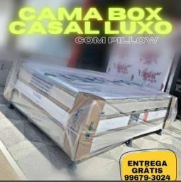 Cama Box com Pillow Top - Não cobramos Entrega