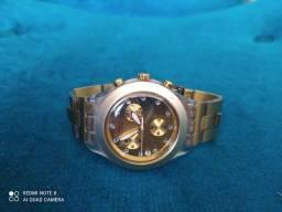 Relógio Swatch com brilhantes original eta lindíssimo