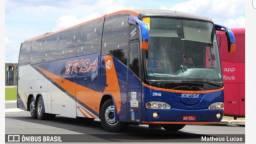 Ônibus panorâmico 42 lugares semi leito scania