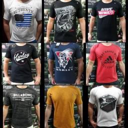 Camiseta masculina multimarcas Tam.M