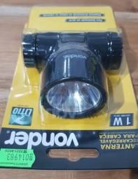 Lanterna Recarregável para a cabeça ? Vonde