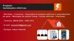 Título do anúncio: Eletricista predial residencial